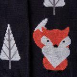 Ponožky unisex - Liška v lese