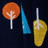 Ponožky unisex - Les podzimní