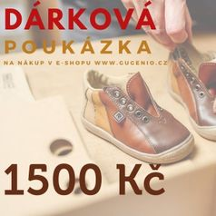 Dárkový poukaz 1500 Kč