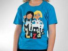 Dětské tričko - Mimi & Líza atoll
