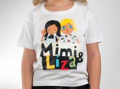 Dětské tričko - Mimi & Líza white