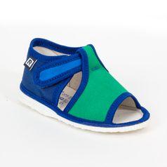 Bačkůrky modro zelené