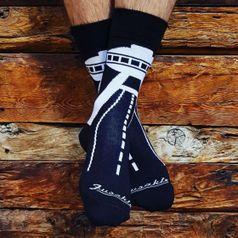 Ponožky unisex - Bratislava UFO