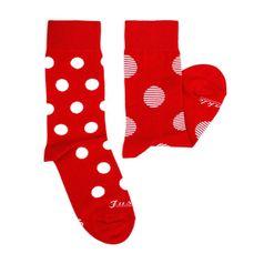 Ponožky unisex - Červenostraník