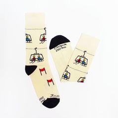 Ponožky unisex - Chopok zima