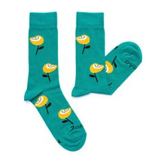 Ponožky unisex - Mak horský
