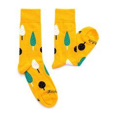 Ponožky unisex - Ovocný sad
