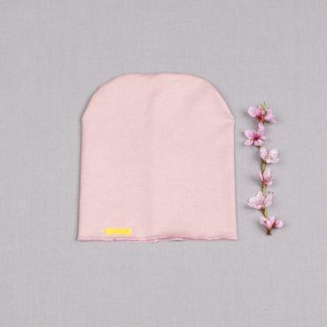 Čepice růžová - GOTS