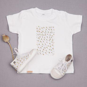 Dupla tenisky a tričko GOTS - Bílá louka