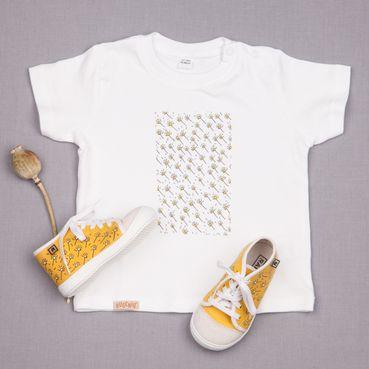 Dupla tenisky a tričko GOTS - Žlutá louka