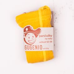 Punčochy se šlemi žluté
