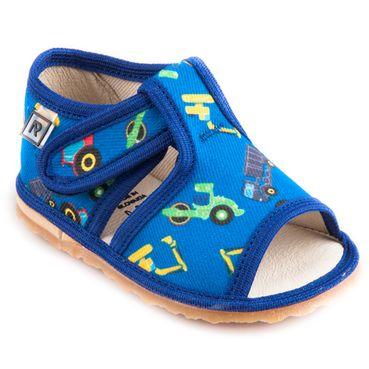 Bačkůrky bagr modrý