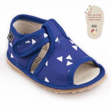 Bačkůrky modrý trojúhelník