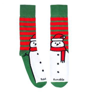 Ponožky - Dětský Sněhulák