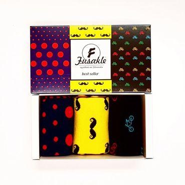 Ponožky unisex - Dárková krabice Bestseller