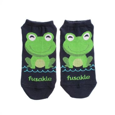 Ponožky unisex kotníkové - Žaba