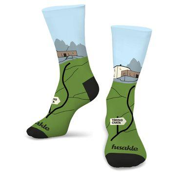Ponožky unisex - Teryho chata