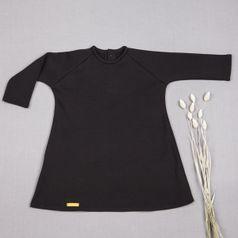 Šaty černé GOTS