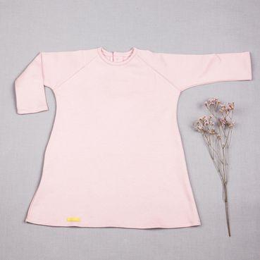 Šaty růžové GOTS